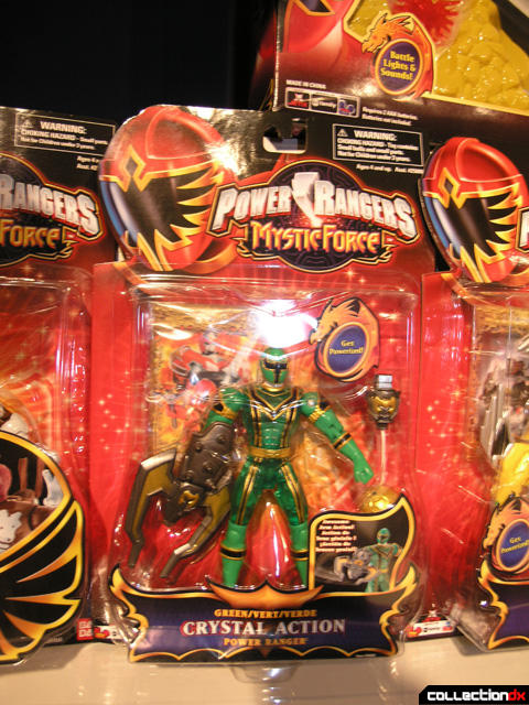 Green Crystal Action Power Ranger