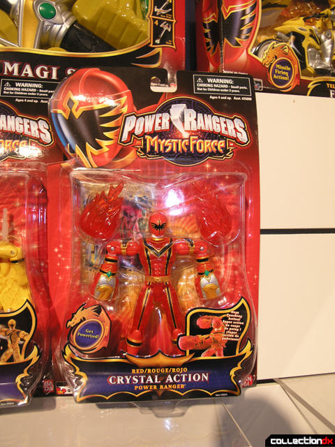 Red Crystal Action Power Ranger