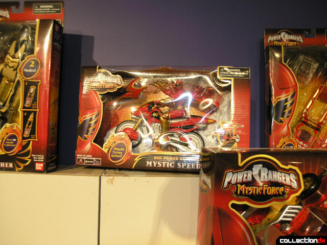 Red Power Ranger Mystic Speeder